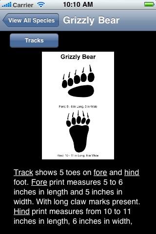 Mammal Tracks screenshot-3