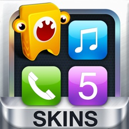 Icon Skins and Shelves for iPhone 5