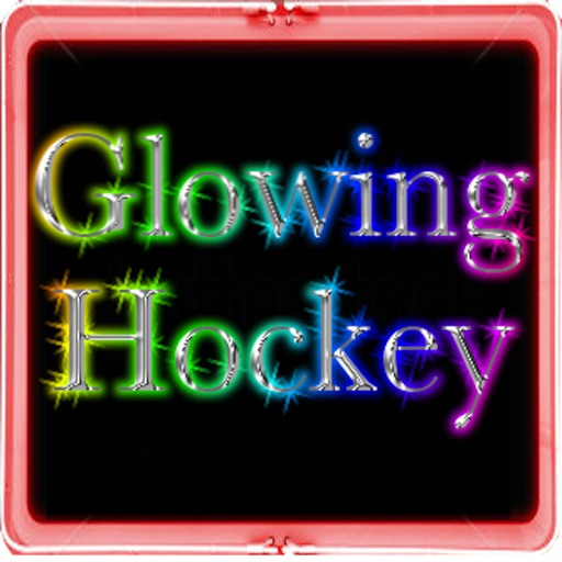 Glowing Hockey icon