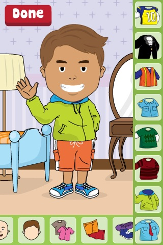 Dress Me Up Lite screenshot-3
