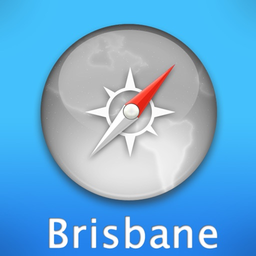 Brisbane Travel Map (Australia)