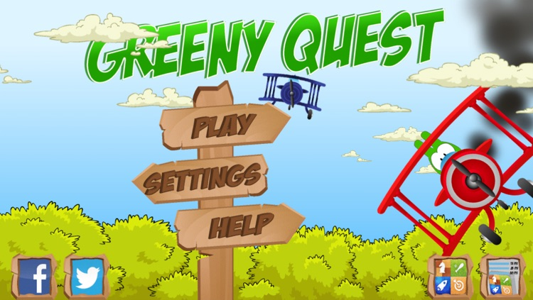 Greeny Quest Free screenshot-0