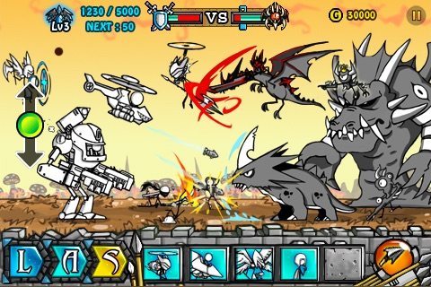 Cartoon Wars 2: Heroes Lite screenshot-3