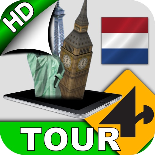 Tour4D Amsterdam HD icon