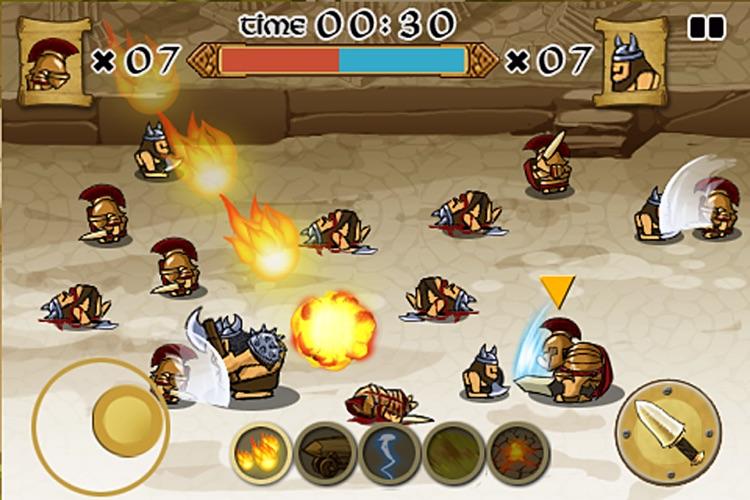 Spartans vs Vikings screenshot-3