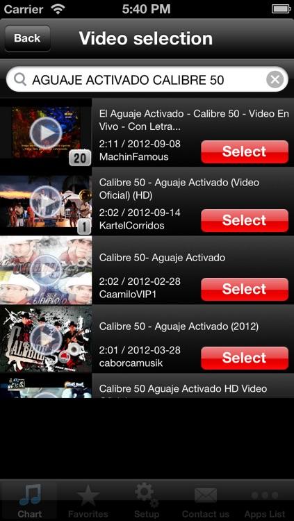 Latin Hits! (Free) - Get The Newest Latin American music charts! screenshot-3
