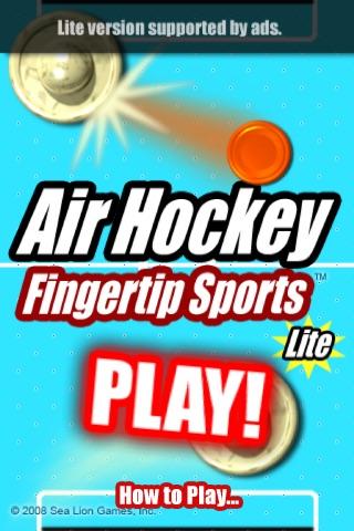 Air Hockey Fingertip Sports Lite