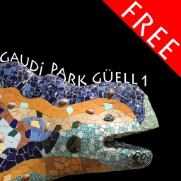 Park Güell 1, puzzle of Gaudí's famous park in Barcelona FREE