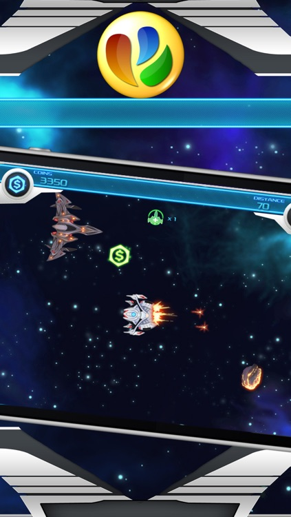 A 360° Space Shooter Game