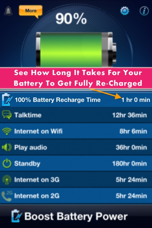 Battery Saver Magic screenshot-3