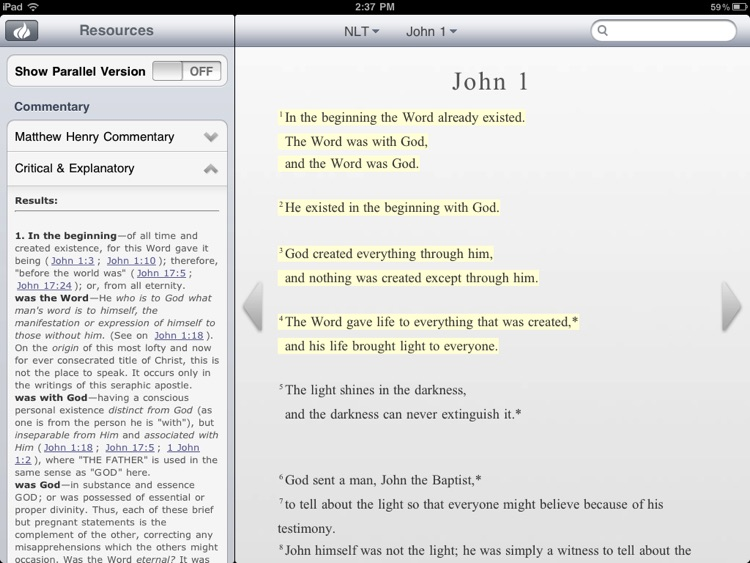 CBN Bible for iPad screenshot-3