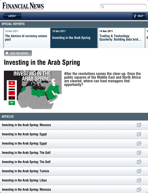 Financial News for iPad screenshot-3