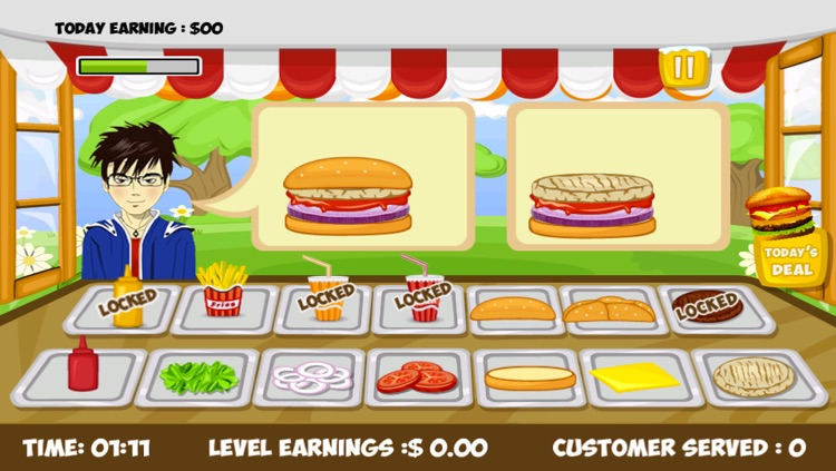 Stand O Burger Free - Cooking & Time Management Game screenshot-3