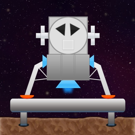 Spaceship Landing icon