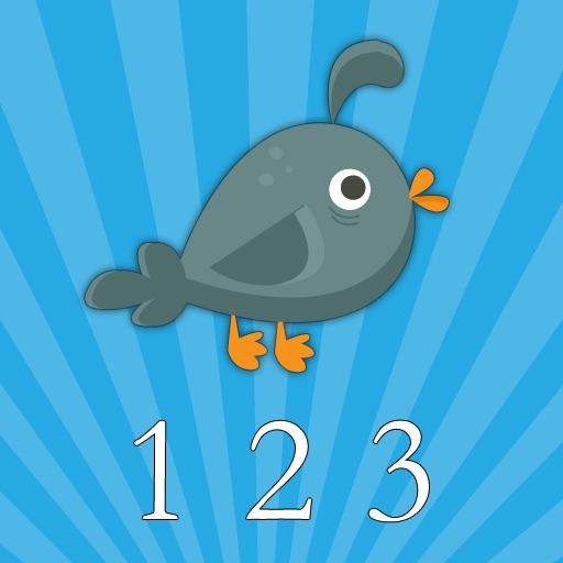 Animal Number Cards (Preschool Education) HD