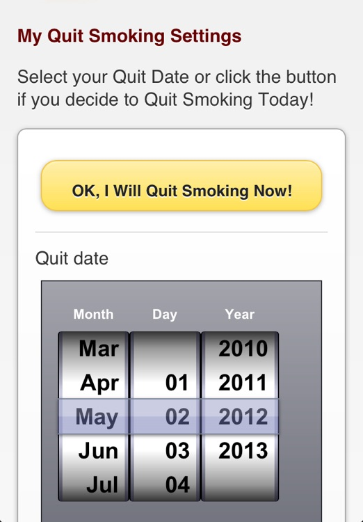 iQuit - Stop Smoking Counter screenshot-4