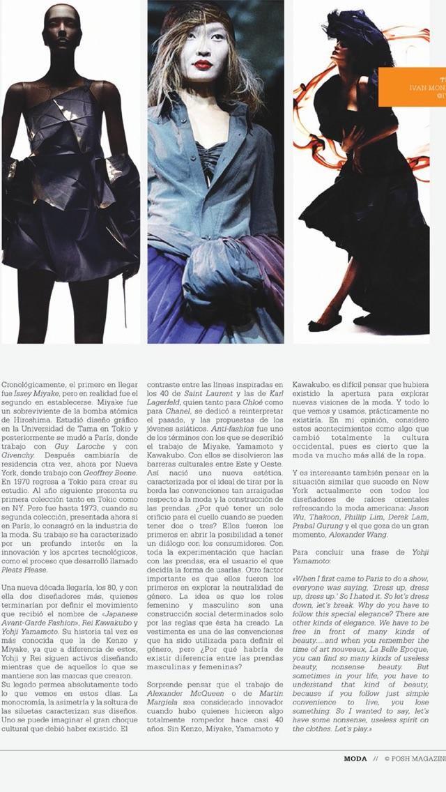 Posh Magazine The New... screenshot1