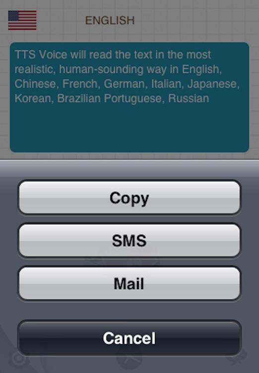 iSpeech Free - Text To Speech screenshot-3