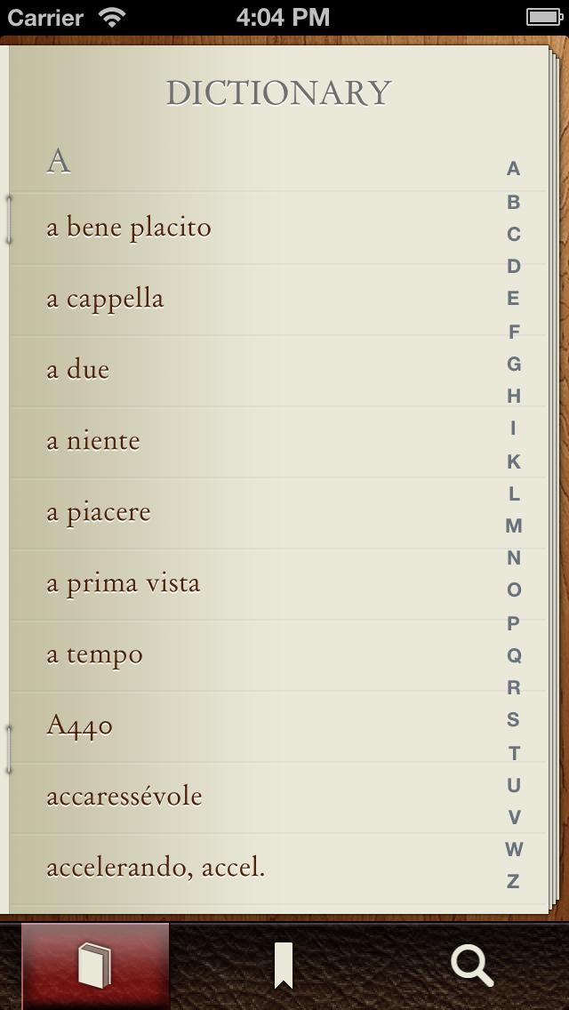 Musictionary Music Dictionaryのおすすめ画像1