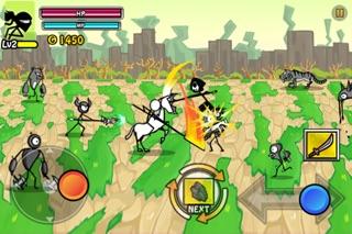Screenshot #3 for Cartoon Wars 2: Heroes