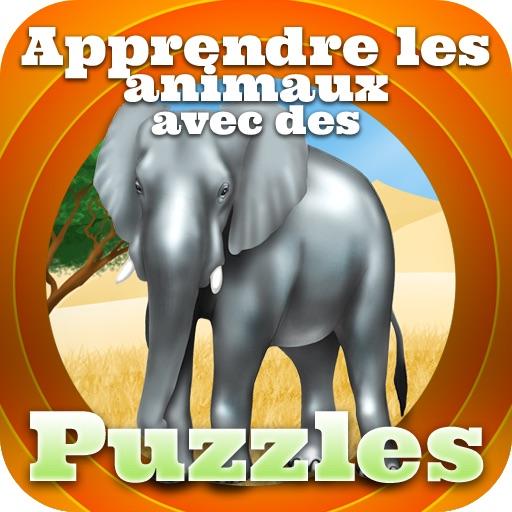 Apprendre les animaux avec des puzzles
