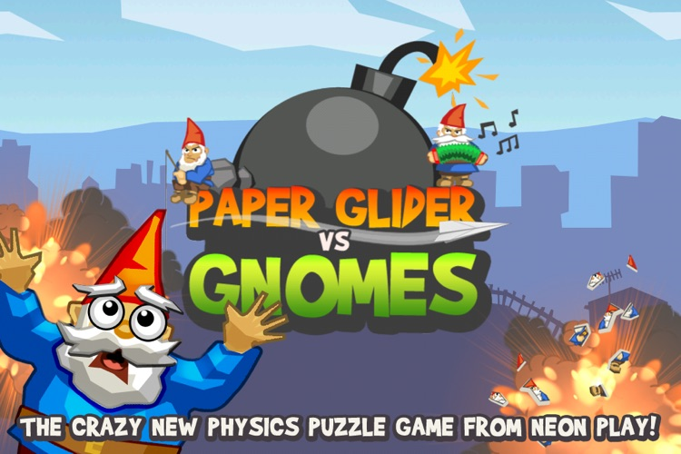 Paper Glider vs. Gnomes screenshot-0