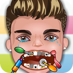 Crazy Dentist and Little One Direction Doctor: Fun nose and eye 1D kids games for girls & boy
