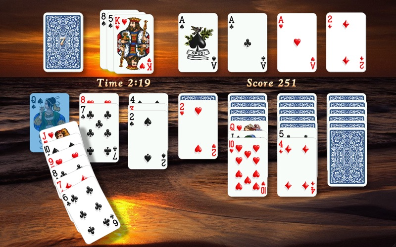 Screenshot #1 for Solitaire City™ (Deluxe)