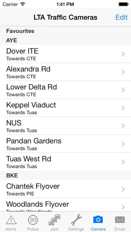 TrafficAlert screenshot-4