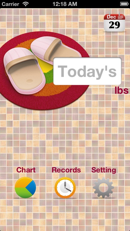 iBodyWeight(lbs) screenshot-0