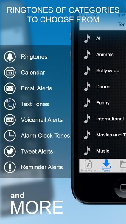 Ringtones iOS 7 Edition.