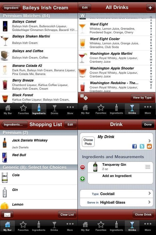 InMyBar - Drink & Cocktail Recipes screenshot-3