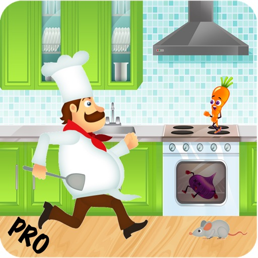 Cooking Crazy Running Dash - Top Mouse Fighting Food Smash World Pro