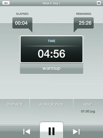 Half Marathon Trainer Free - Run for American Heart screenshot