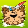 塗り絵の本 子供のための猫の:猫、トムキャット、ペット、子猫、ペルシャ猫、シャム猫のような多くの写真とともに。幼稚園、保育園や学校のためのゲーム。