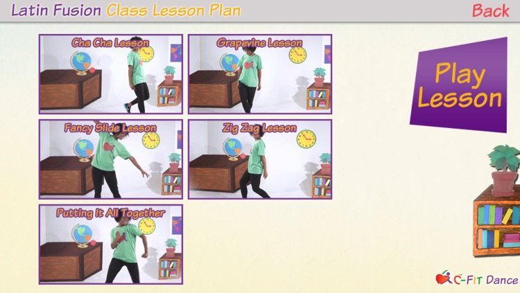 C-Fit Dance - Classroom Fitness