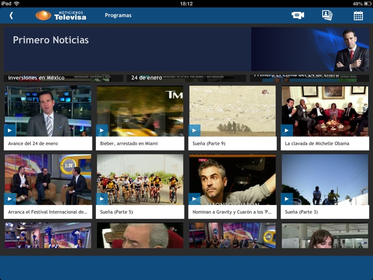 Televisa Noticias for iPad screenshot-3