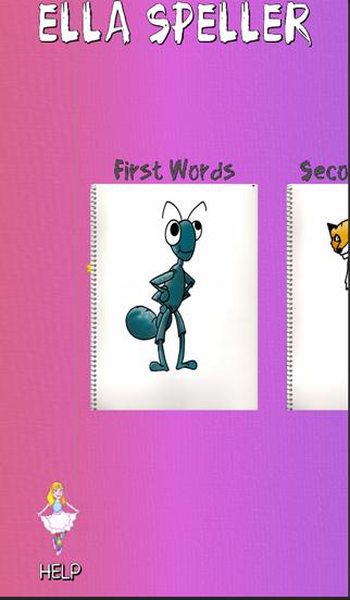 Ella Speller : First Words screenshot one