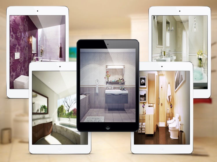 Stunning Bathroom Design Ideas for iPad screenshot-2