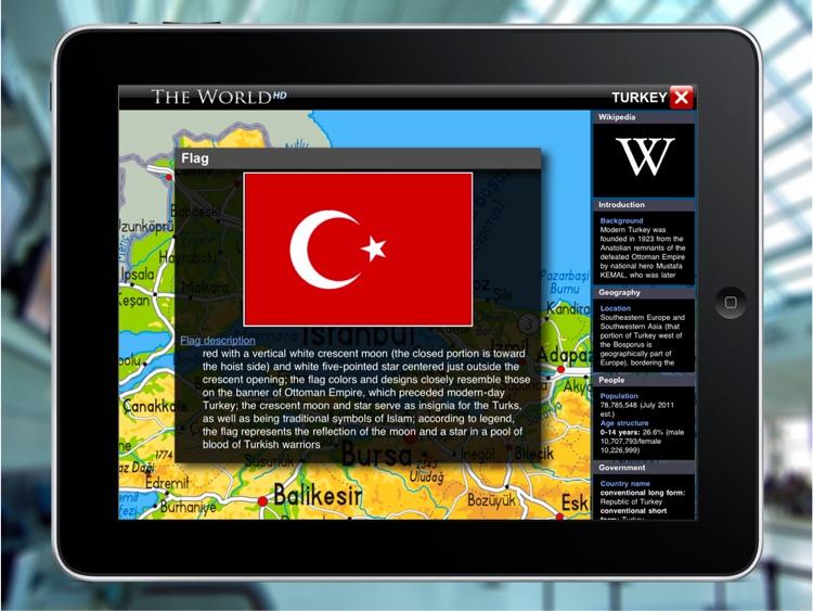 WORLD ATLAS - The World HD (with Retina Maps) screenshot-3
