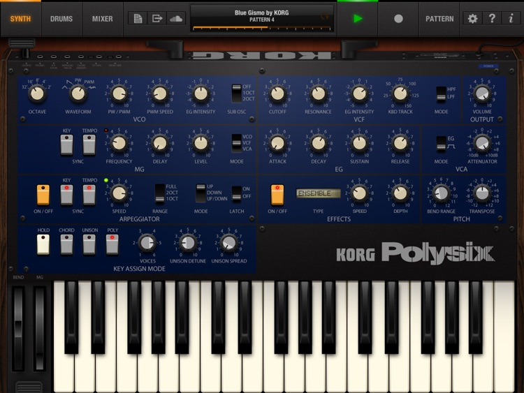 KORG iPolysix for iPad screenshot-0