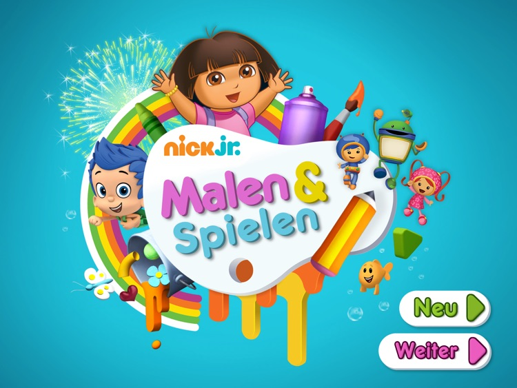 Nick Jr. Malen & Spielen HD