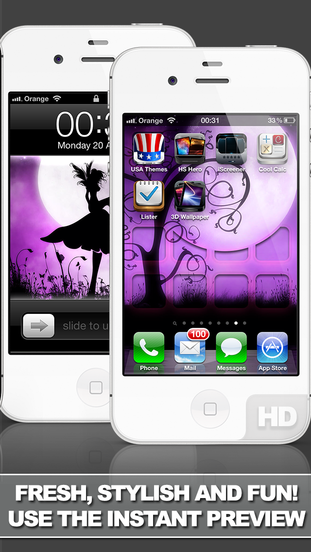 iScreener Free - Themes and Wallpaper to change the look of