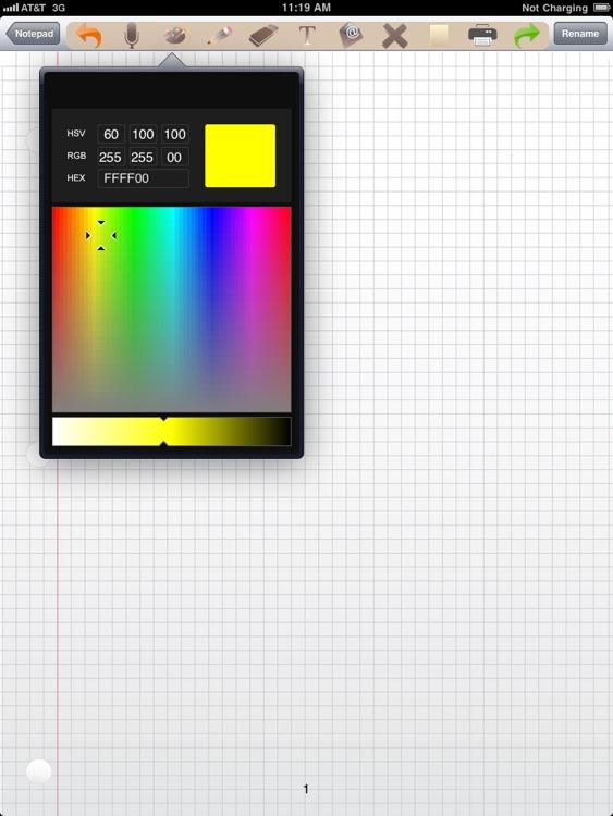 NotePad Pro for iPad screenshot-3