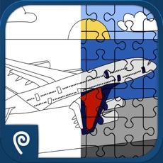 Activities of Color It Puzzle It: Planes Lite