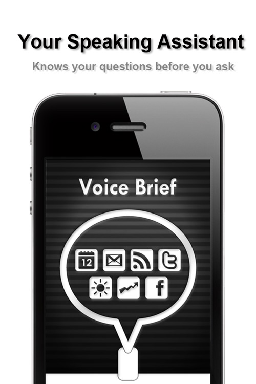 Voice Brief - text to speech voice assistant for news email and more