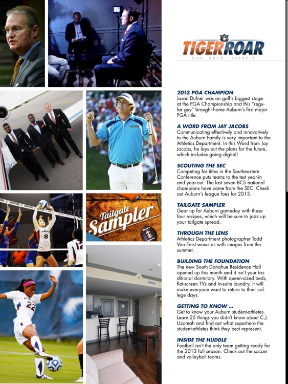 Auburn Athletics Digital screenshot-2