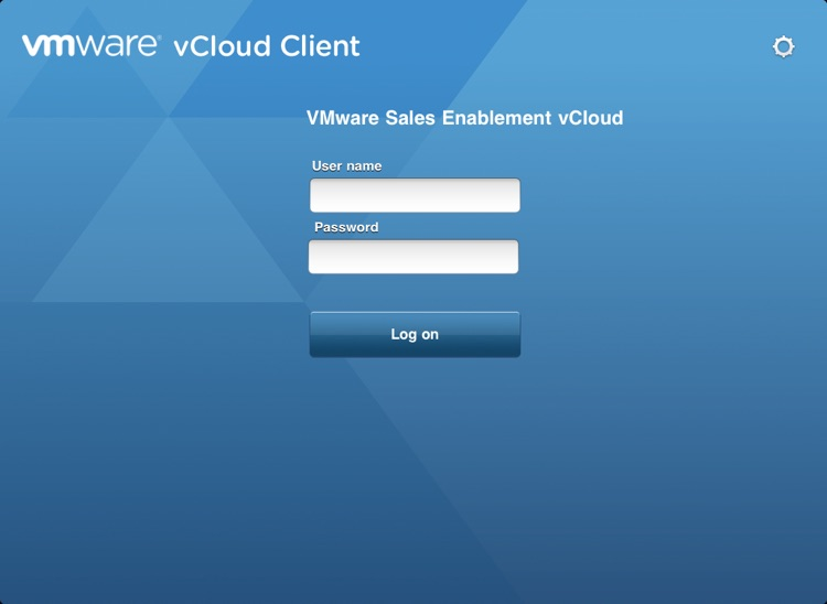 VMware vCloud Client for iPad
