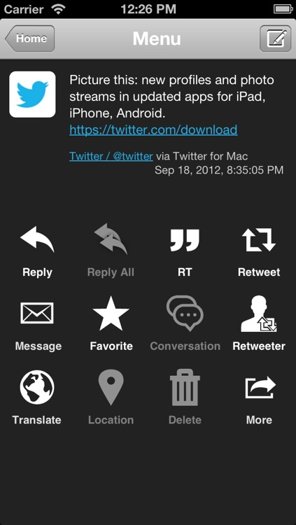 TwitRocker2 for iPhone - twitter client for the next generation screenshot-3