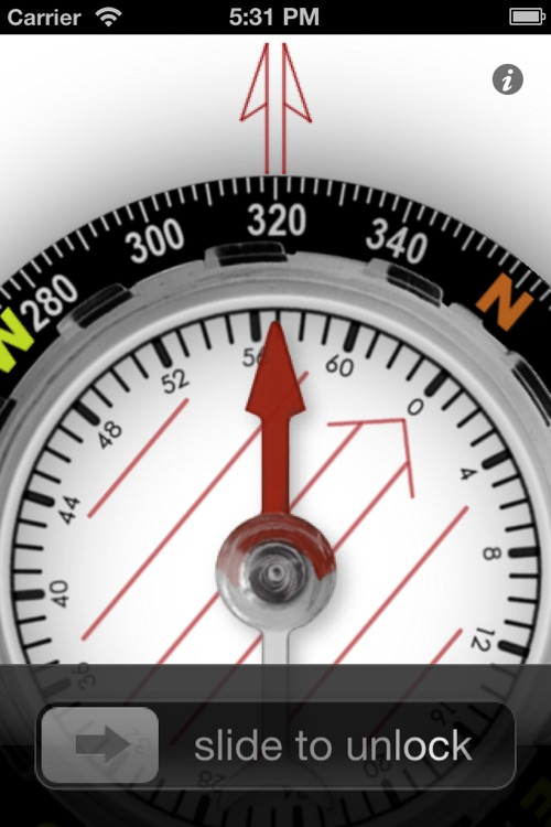 Orienteering Compass screenshot-4